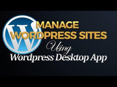 How to Add a Self Hosted Wordpress site to Wordpress Desktop App