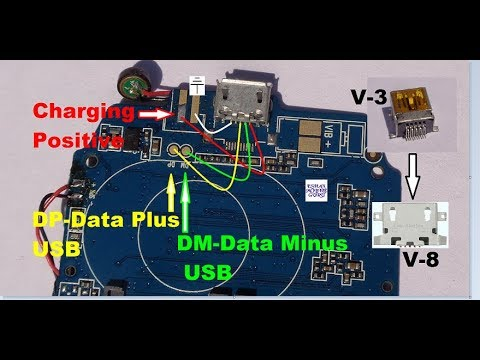 How To Enter V-8 Charging Slot In Place Of V-3 Charging Slot (ALL CHINA MOBILE)