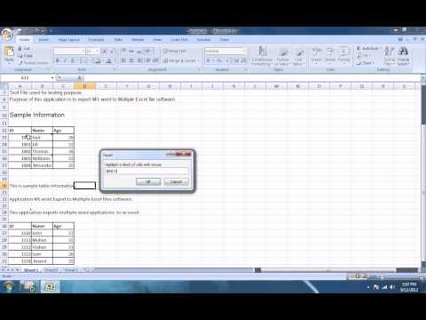 How To Use Excel Change Font Size and Style In Multiple Files Software