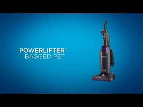 How to use the Powerlifter™ Pet Bagged Vacuum Cleaner | BISSELL