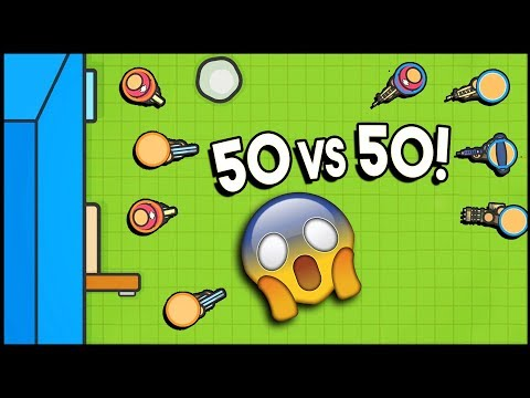EPIC! 50 vs 50 Mode! Victory Incoming (ZombsRoyale.io Gameplay is Basically Fortnite.io)