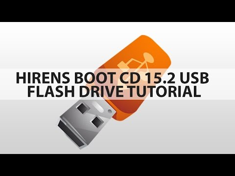 How to run the Hirens Boot CD 15.2 onto a USB Flash Drive