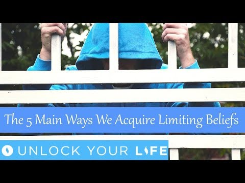The 5 Main Ways We Acquire Limiting Beliefs and Trauma and Quick Ways to Start to Identify Them Now