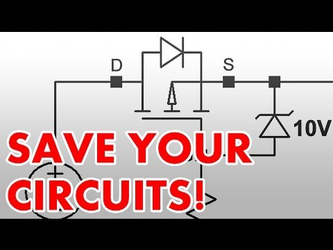 How to protect circuits from reversed voltage polarity!