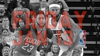 NBA Daily Show: Jan. 13 - The Starters