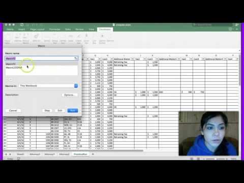 Using a macro to copy multiple worksheets into a master worksheet Excel Macbook