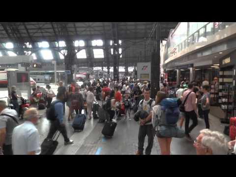 Train from Milan Malpensa Airport to Venice (Tren desde aeropuerto Milan Malpensa a Venecia)