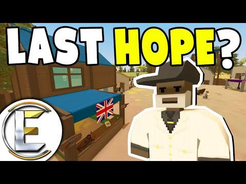 Last Hope For Humanity - Unturned Roleplay Outbreak Story #3 (Is This The Last Settlement?)