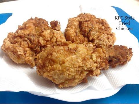 Kfc Style Crispy Fried Chicken - Homemade Crispy Fried Chicken