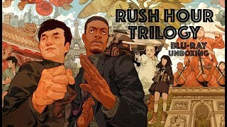 RUSH HOUR TRILOGY Blu-ray Unboxing from Amazon!
