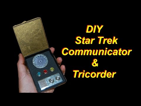 DIY Star Trek Communicator and Tricorder