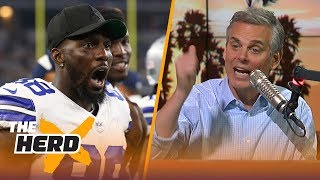 Colin Cowherd reacts to the Dallas Cowboys releasing WR Dez Bryant | THE HERD