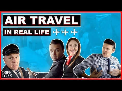Air Travel In Real Life