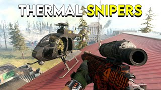 Thermal Snipers in Warzone are Incredible! - CoD: Modern Warfare