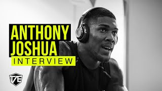 TAE MEETS ANTHONY JOSHUA - INTERVIEW
