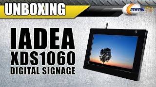 IAdea XDS1060 Digital Signage Player Unboxing - Newegg TV