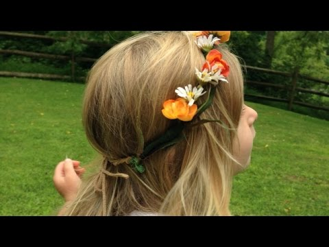 Make an Easy Floral Headband - Style - Guidecentral