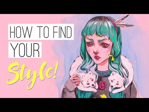 How to find your style and be more creative! + DRAWING TIMELAPSE