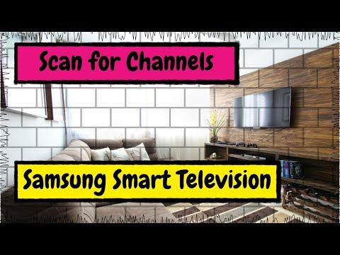 How to Scan or Rescan for Channels with Your Samsung Smart TV