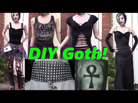 Goth on a Budget: Easy DIY Clothing!