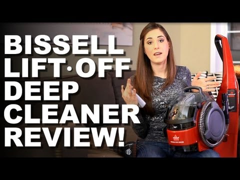 Bissell Lift-Off Deep Cleaning System Review! Helpful Home Cleaning Ideas (Clean My Space)