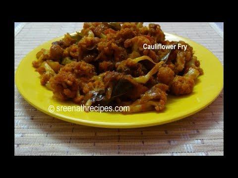 Cauliflower Fry - Cauliflower Stir Fry
