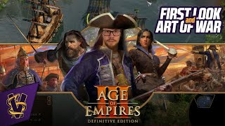 Age of Empires III: Definitive Edition - First Look & Art of War