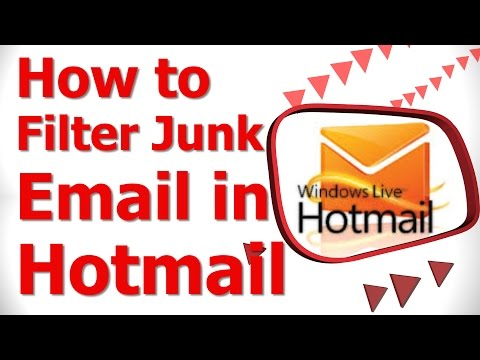 How to Filter Junk Email in Hotmail 2014