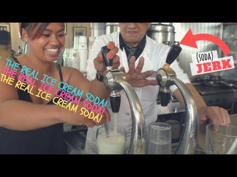 REAL ICE CREAM SODA JERK | Lexington Candy Shop | summer vlogs 002