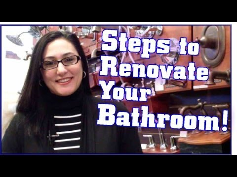 Your Home Center-Steps to Renovate Your Bathroom