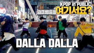 Download [여기서요?] 있지 ITZY - 달라달라 DALLA DALLA (Boys ver.) | 커버댄스 DANCE COVER | KPOP IN PUBLIC @동성로 Video