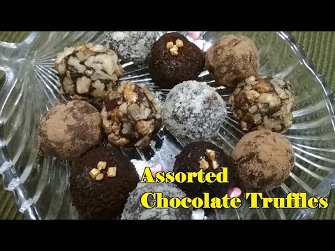 How to make Assorted Chocolate Truffle | Easy Recipe