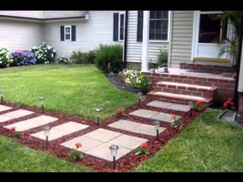 Easy DIY ideas for walkway decorations