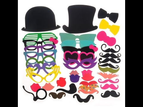 Review: 40pcs Photo Booth Props for Party Favor
