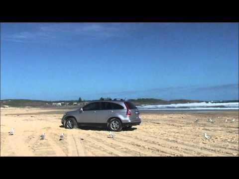Driving on Sand Dunes @ Anna Bay, NSW, Australia