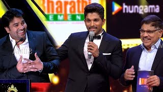 Allu Arjun And Allu Aravind Making Fun Of Mirchi Shiva