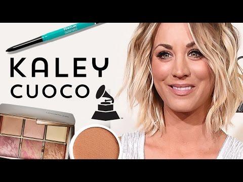 Kaley Cuoco Makeup Grammys 2016