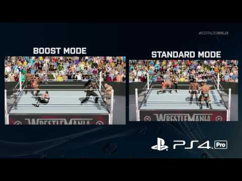 PS4 Pro Boost Mode vs  Standard Mode Ultimate Comparison Ft  WWE 2K17 1