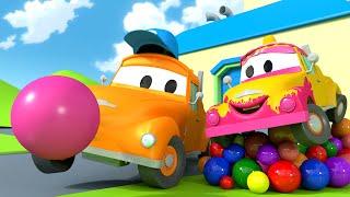 ¡Bebé Tom y la Goma de Mascar! - El lavado de Autos de Tom La Grúa 🛀 Dibujos animados educativos