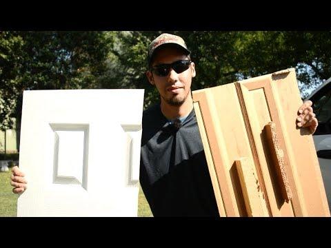 What's Inside a Cheap Hollow Core Door?