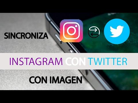 Sincroniza Instagram con Twitter visualizando la imagen