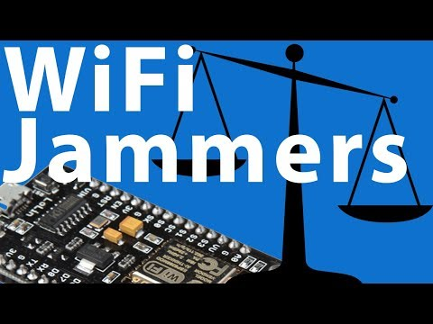 WiFi Jammers/Deauthers | Legal?