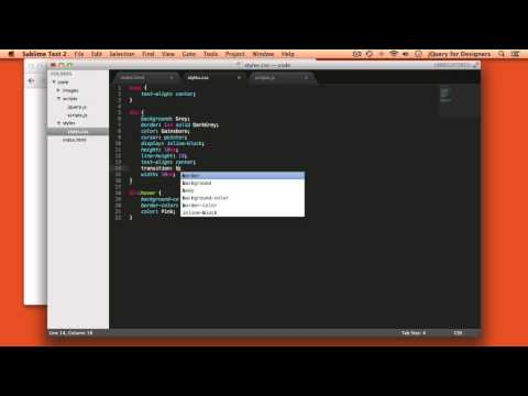 Designers Learning jQuery Episode 13: Animating Color