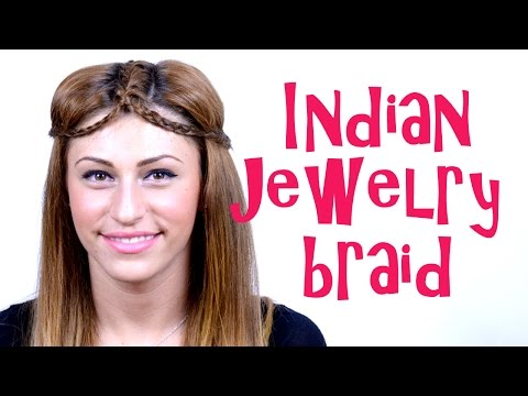 Indian Jewelry Braid Tutorial