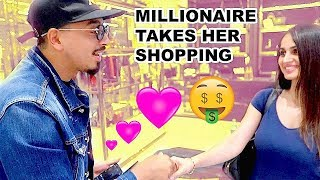 MILLIONAIRE TOOK MY SISTER SHOPPING ...