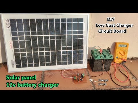 12v Solar Battery Charger / DIY Charger Control Circuit Board  / POWER GEN