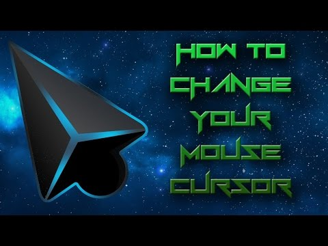 How to change your Mouse Cursor! FREE! Windows 10