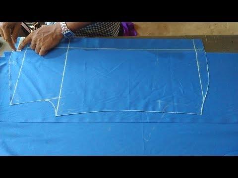 Men's Shirt cutting (DIY) men's school shirt cutting step by step in Hindi
