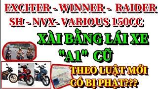 Anh em đang có xe Exciter, Winner, Raider, sh, NVX, various 150cc trở lên nghe nhé?