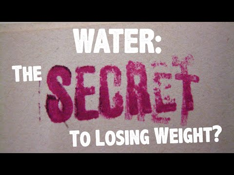 Water: The Secret to Losing Weight?